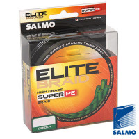 Леска плетёная Salmo ELITE BRAID (зеленая) 125м 0.33мм